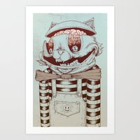 Kitty Fun Art Print
