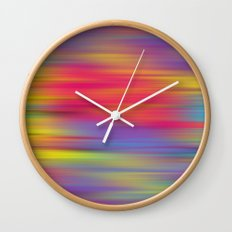 All The Colors  Wall Clock