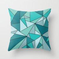 Blueup Throw Pillow