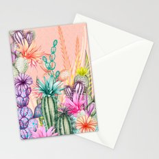 Cacti Love Stationery Cards