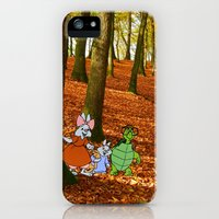 iPhone Cases featuring Robin Hood's Sis Tagalong and Toby Turtle by foreverwars