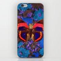 Caterflies iPhone & iPod Skin