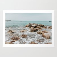 Playa Chacala Art Print