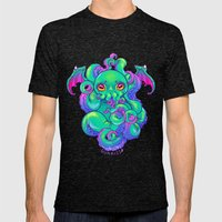 Cthulhu Mens Fitted Tee Tri-Black SMALL