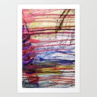 Dripping Art Print