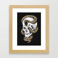 The Dark Mark Of You-Kno… Framed Art Print