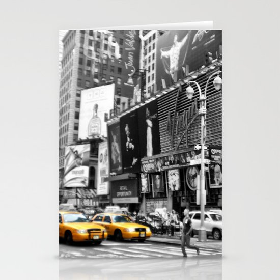 I love NY Stationery Card