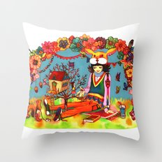 Hideaway Love Throw Pillow