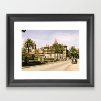 St Augustine Framed Art Print