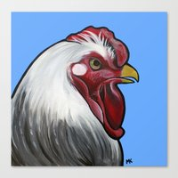 Buddy the rooster Canvas Print