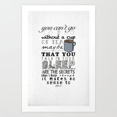 One Direction: Little Th… Art Print