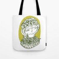 Spring Cat Lady  Tote Bag