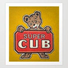 Super Cub Art Print