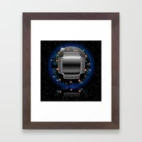 Electronic Motherboard C… Framed Art Print