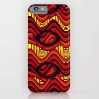 iPhone Cases featuring Sizzle! by Bunny Clarke