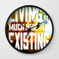 Living&existing Wall Clock