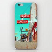 Oasis Tavern iPhone & iPod Skin
