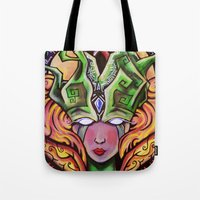 Mystical Woman Tote Bag