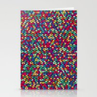 Checks Cubed Stationery Cards