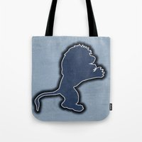 Original Detroit Lions Logo Tote Bag