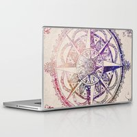 tattoo Laptop & iPad Skins featuring Voyager II by Jenndalyn