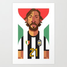 AP21   Bianconeri Art Print