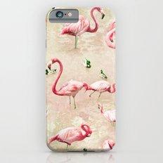 Flamingos Vintage Pink  Slim Case iPhone 6s