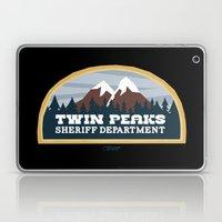 Twin Peaks Sheriff Depar… Laptop & iPad Skin