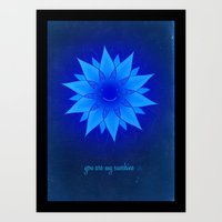 You are my sunshine... Art Print