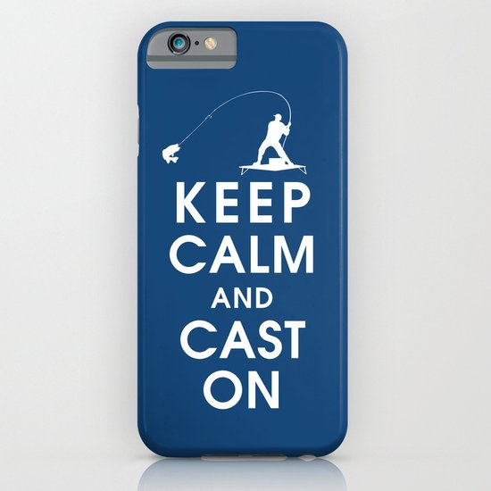 Keep Calm and Cast On iPhone & iPod Case