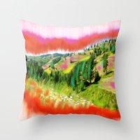 Nez Perce Idaho Throw Pillow