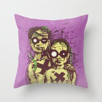 Happiness II Throw Pillow