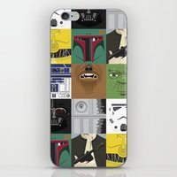 Starwars combo iPhone & iPod Skin