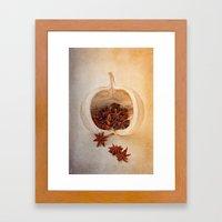 STAR ANISE Framed Art Print