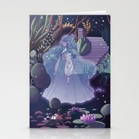 The ghost of the lake Stationery Cards