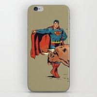 Matador of Steel iPhone & iPod Skin