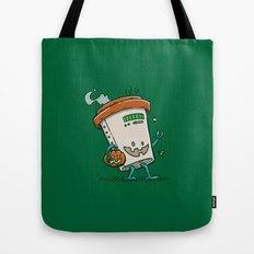 Pumpkin Spice Latte Bot Tote Bag