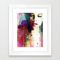 Defeat Framed Art Print