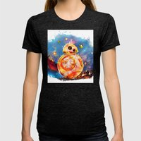 Droid Womens Fitted Tee Tri-Black SMALL