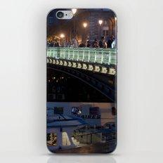 Paris by Night III iPhone & iPod Skin
