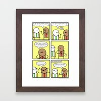 Antics #348 - A Star Is … Framed Art Print