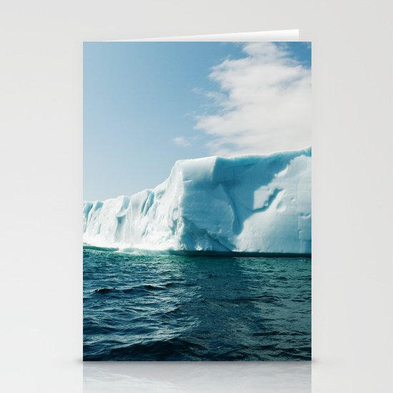 Iceberg Stationery Card