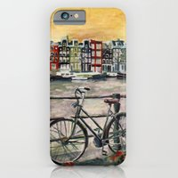 iPhone & iPod Case featuring Going Dutch (blue) by Emily Swedberg (Ito Inez)