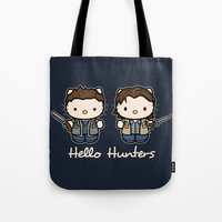 Hello Hunters Tote Bag