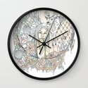 forest & branches Wall Clock