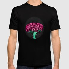 Tree Of Love  Mens Fitted Tee SMALL Black