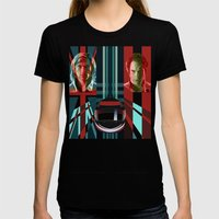 Rush Womens Fitted Tee Black SMALL