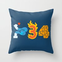 Fantastic Numbers Throw Pillow