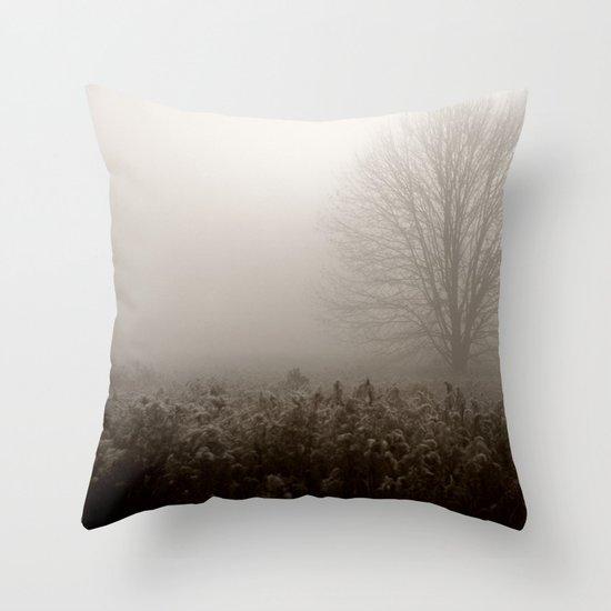 Falls first frost Throw Pillow