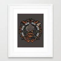 GNG CREST Framed Art Print
